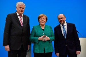 Vokietijos partijos susitarė dėl koalicijos