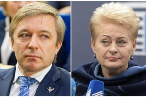 Prezidentė: R. Karbauskio veikla gali prieštarauti Konstitucijai