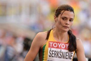 A. Šerkšnienė Bazelyje: vieną šalies rekordą pagerino, į kitą – pasikėsino