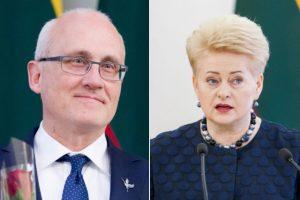 Krizės tyrimas: S. Jakeliūnas išsiuntė klausimus D. Grybauskaitei
