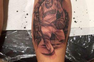 Broliai Maciai siaučia toliau: tatuiruotėje įamžino D. Sabonį