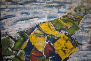 Pažįstama aplinka – spalvų ir linijų poezijoje