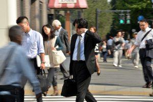 Japonai nebijo savo gyvenimo pabaigti biuruose