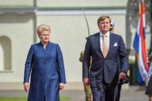 Nyderlandų karalius Kaune pagerbs olandų diplomato atminimą