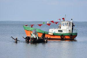 Juodkrantėje – nuotaikinga Pamario krašto žvejo šventė