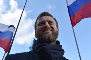 Rusijos opozicijos lyderis sulaikytas iki pirmadienio teismo