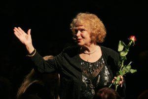 Aktorė G. Balandytė: netikiu, kad man tiek metų