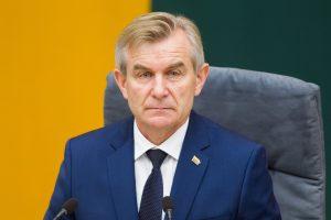"""V. Pranckietis: biudžetą Seime gali palaikyti lenkai ir """"tvarkiečiai"""""""