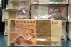 Pradės prekiauti 1000 litų ir kitų nominalų banknotų rinkiniais