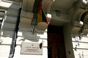 Premjeras: susisiekimo ministras išspręs Registrų centro problemas