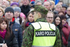 Karo policijai vadovaus majoras L. Baliūnas