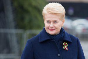 D. Grybauskaitė: Rusijos sunkumai kelia grėsmę ir Lietuvai
