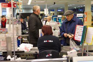 Po konflikto Klaipėdos parduotuvėje į areštinę uždaryta neblaivi kariuomenės seržantė