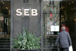 SEB bankas per pirmąjį metų ketvirtį uždirbo 21,7 mln. eurų