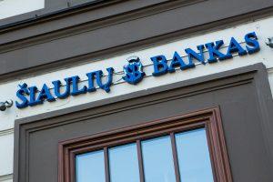 Šiaulių banko pelnas šiemet sumažėjo 39 proc.