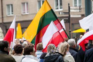 Lietuvos politikai nori artimesnių ryšių su Lenkija