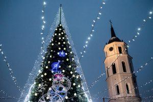 Brangiausia eglė – Vilniaus: jai sostinė išleido 95 tūkst. eurų