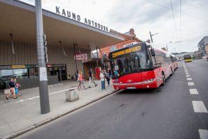 Aktualu Kauno rajono gyventojams: keisis kai kurie viešojo transporto maršrutai