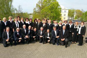Jubiliejų švenčiantis choras – kartu ir koncertuose, ir baidarių žygiuose