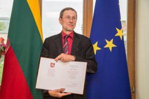 Vasario 16-osios aktą suradusiam L. Mažyliui – Lietuvos pažangos premija