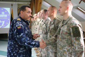 Į ES operaciją prie Somalio krantų išvyksta 14 Lietuvos karių