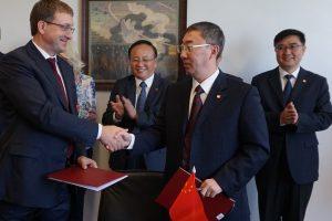 Kauno termofikacijos elektrinė su kinais steigia bendrą įmonę