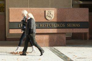 Permainos Seimo kanceliarijoje: naikinama vicekanclerio pareigybė