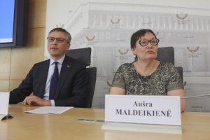 """A. Maldeikienė: """"MG Baltic"""" yra nusikalstama organizacija"""