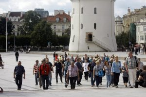 Kokių šalių turistai dažniausiai rinkosi Lietuvą?