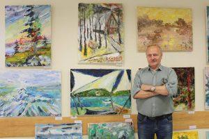 Dvitautėje parodoje – lietuviško peizažo įprasminimas