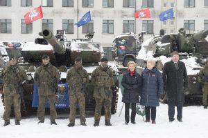 R. Karoblis: Vokietija investuos į karinę infrastruktūrą Lietuvoje