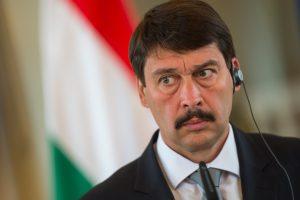 Lietuvoje lankysis Vengrijos prezidentas