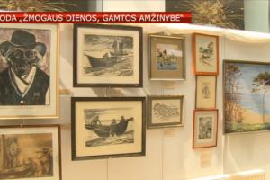 Nidoje – tapybos ir grafikos darbų paroda