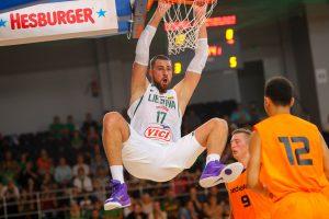 Lietuvos rinktinė neturėjo vargo su Olandijos krepšininkais