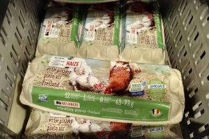 Užnuodyti kiaušiniai Lietuvos nepasiekė