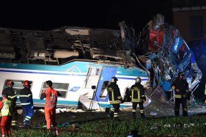 Su traukiniu Italijoje susidūrusio vilkiko vairuotojas grįžta į Lietuvą
