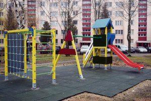Kam priklauso žaidimų aikštelė daugiabučio kieme?