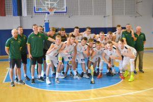 Neribotam laikui nukeltas Europos U18 vaikinų čempionatas