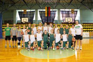 Dvidešimtmetės krepšininkės seriją su Ukrainą baigė pergale