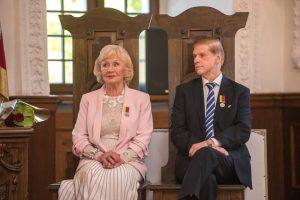 Jūratė ir Česlovas Norvaišos paskelbti Kauno miesto garbės piliečiais