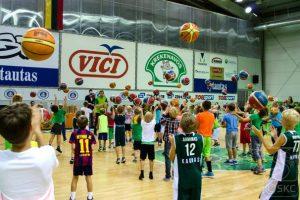 Krepšinio mokyklos atvėrė duris visoje Lietuvoje