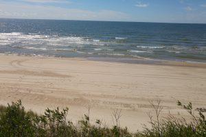 Girulių paplūdimyje rastas vyro kūnas