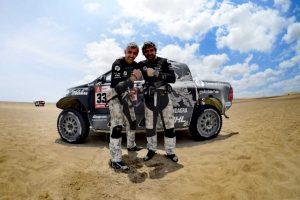 Lenktynininkas B. Vanagas devintajame Dakaro ralio etape finišavo penktas!