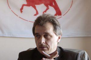 A. Lebedka: socialiniai protestai Baltarusijoje suteikia naujas galimybes opozicijai