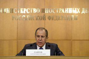 Rusija kritikuoja Lietuvos sprendimą neįsileisti į šalį Latvijos visuomenininkų