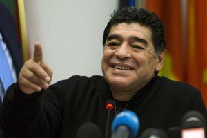 D. Maradona: V. Putinas pasauliui neša taiką