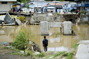 Saliamono Salas supurtė 7,7 balo stiprumo žemės drebėjimas