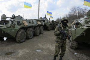 Ukrainos antiteroristinės operacijos zonoje trūksta medikamentų, kartais ir maisto