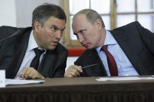 Rusijoje siūloma prezidento rinkimus 2018 metais rengti savaite vėliau