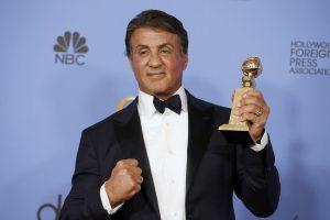 """S. Stallone ištaisė savo """"Auksinių gaublių"""" klaidą"""